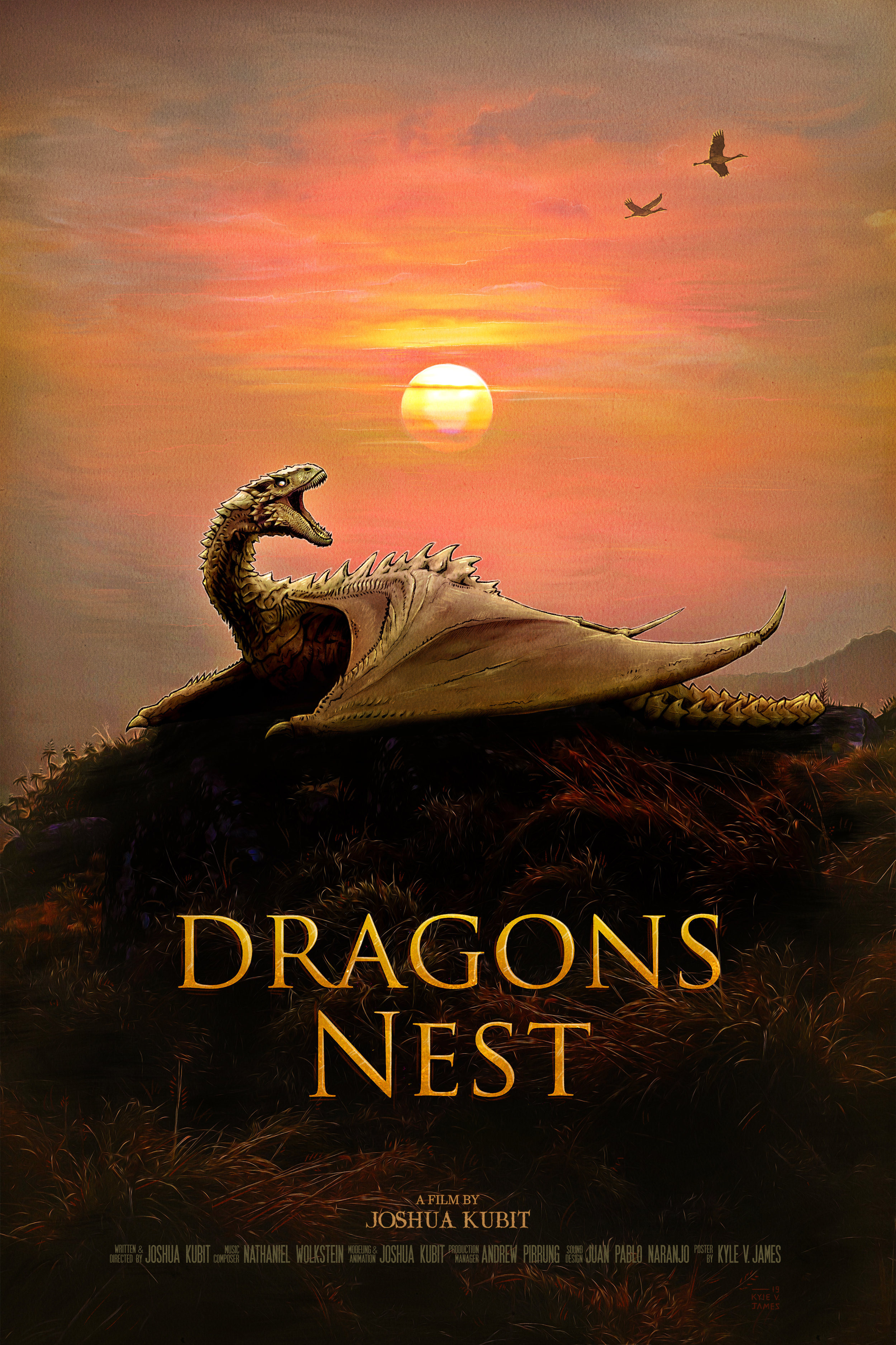 Dragons Nest - Official Poster