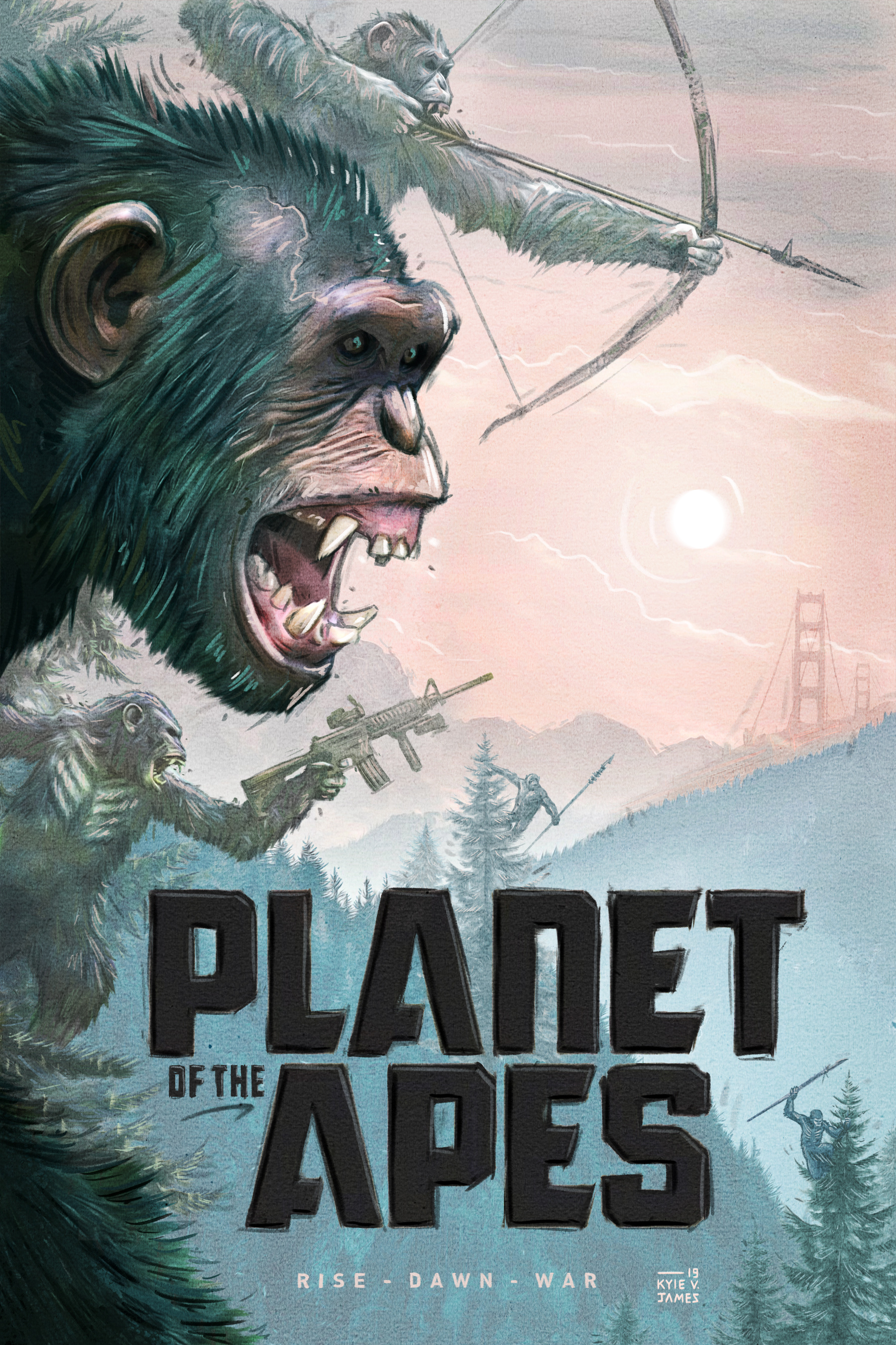 Planet of the Apes - Poster Redesign
