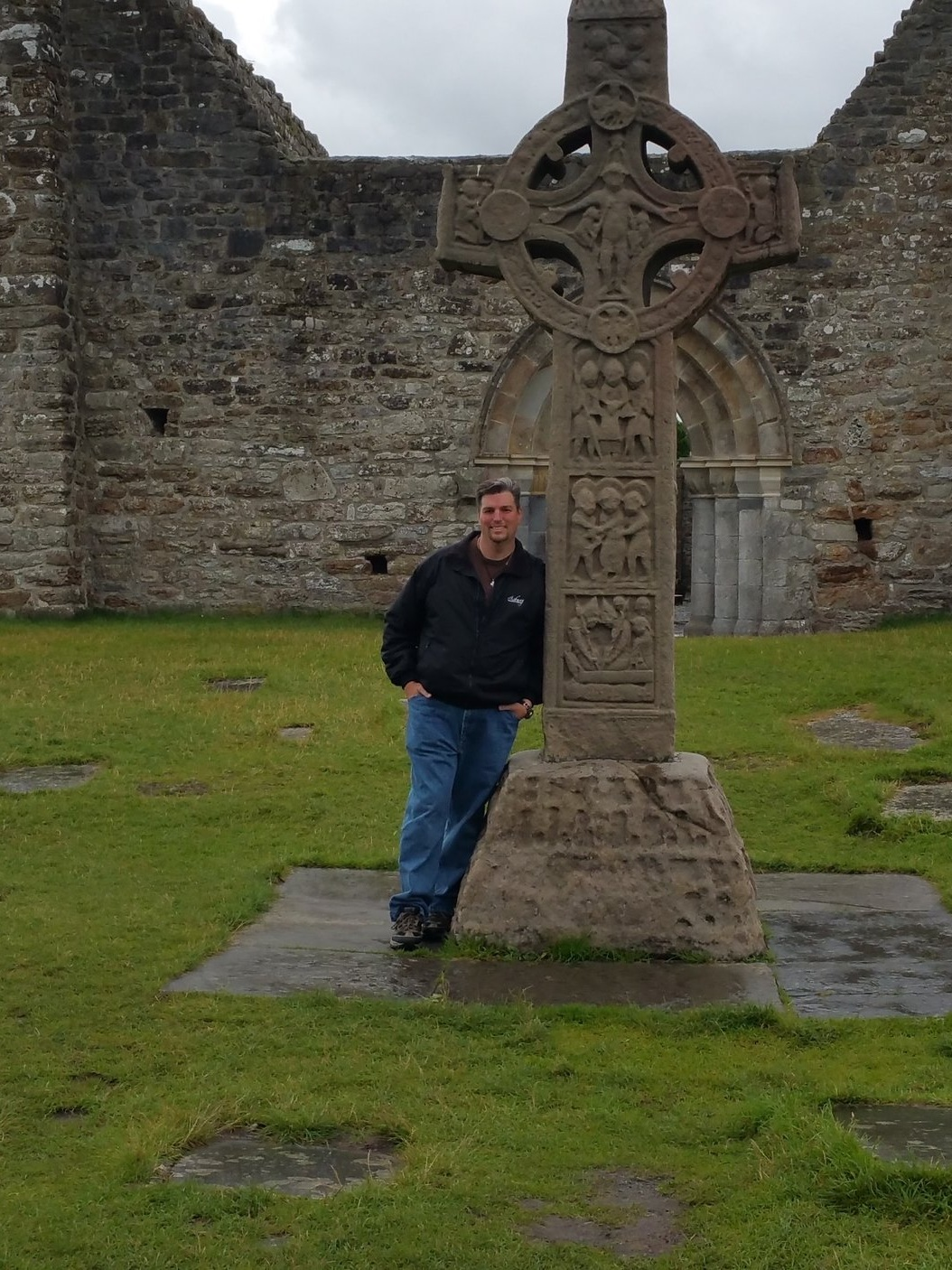 The Cross of the Scriptures at Clonmacnoise (County Offaly, Ireland, 2016)