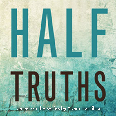 "half truths - Jesus said to the Jews who believed in him, ""You are truly my disciples if you remain faithful to my teaching. Then you will know the truth, and the truth will set you free.""John 8:31-32"