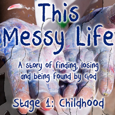 this messy life- stage 1: childhood - Like a newborn baby, desire the pure milk of the word. Nourished by it, you will grow into salvation, since you have tasted that the Lord is good.1 Peter 2:2-3