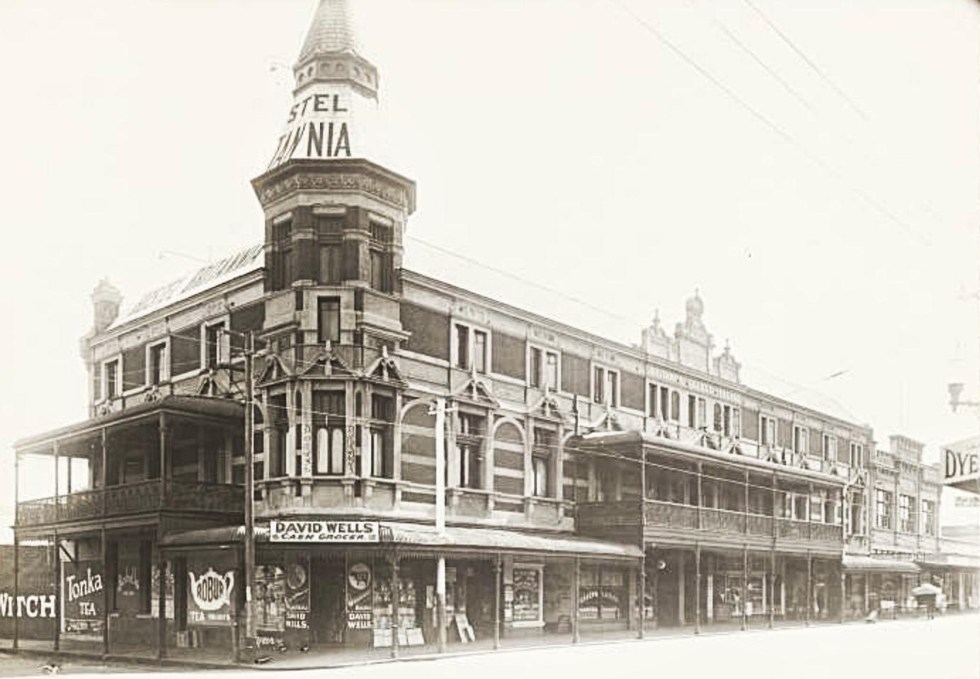 The Britannia Building, c1930, courtesy State Library of Western Australia, image b2101548_4.
