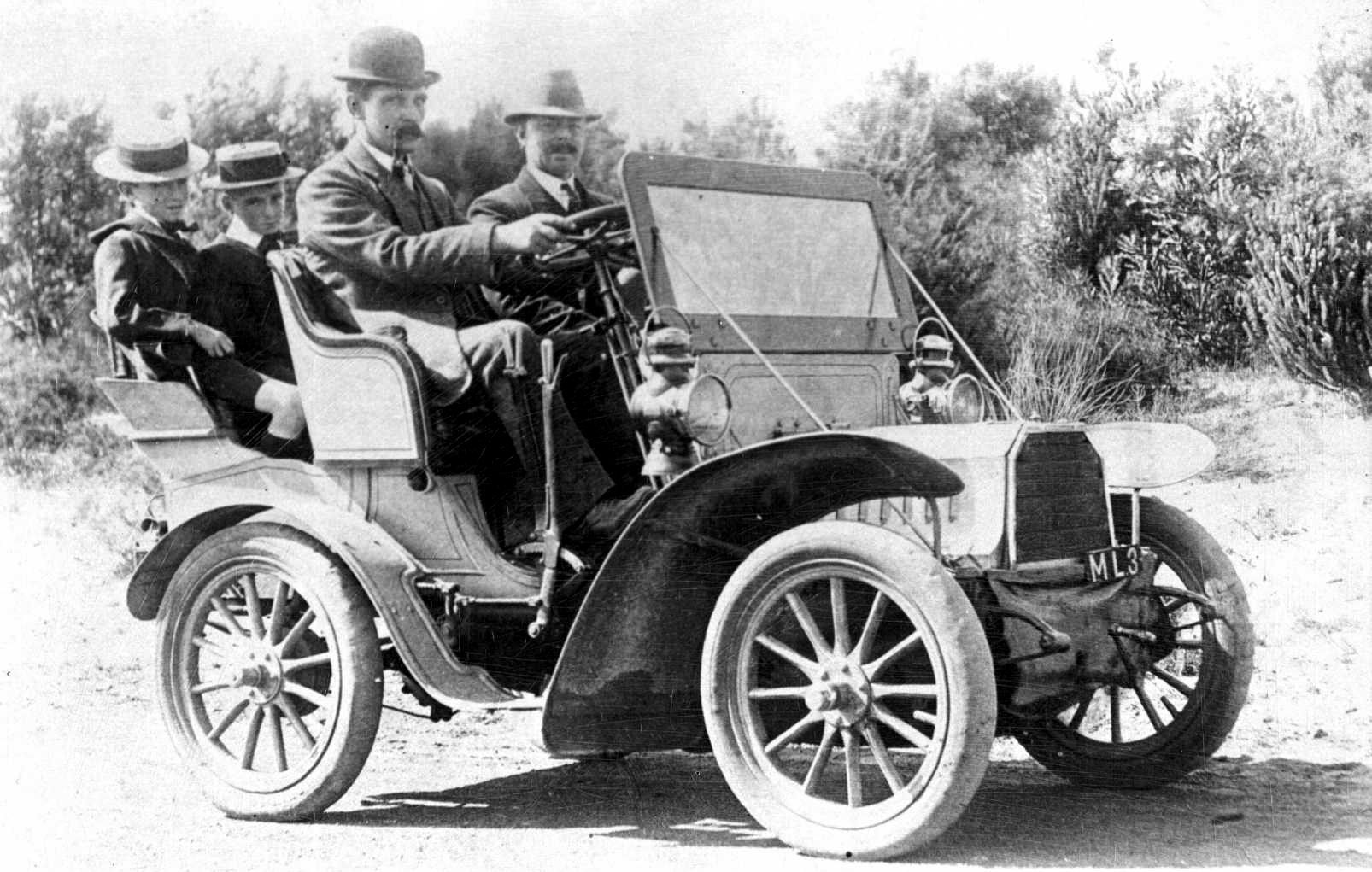 773cc single-cylinder 6 point 5hp 1904 HUMBERETTE, Maylands c1915