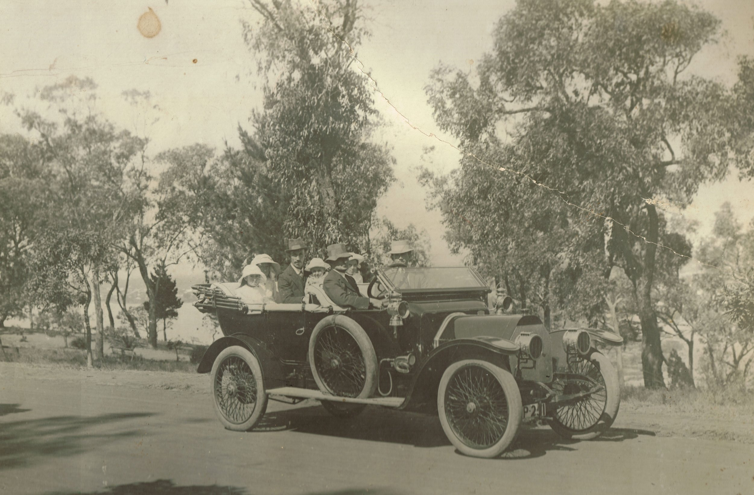 Scat car owned by Crabbe at Kings Park