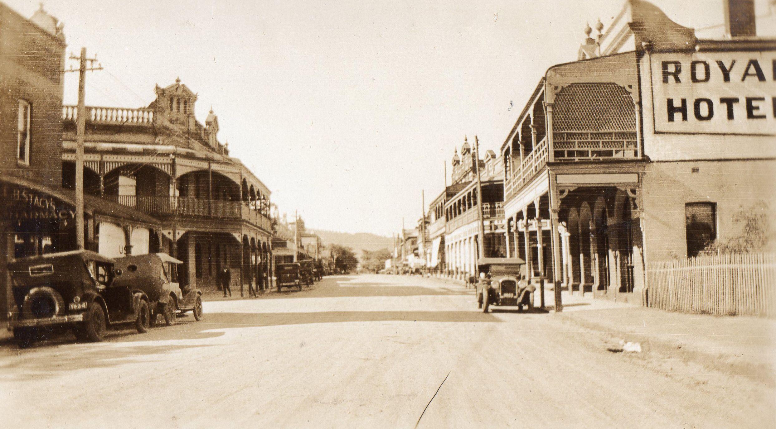 Avon Terrace, York 1929