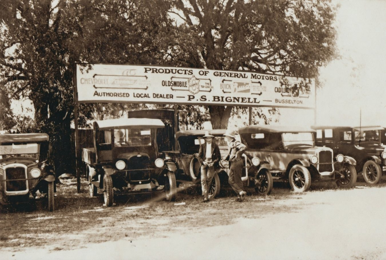 Bignell's Cars at Busselton Show