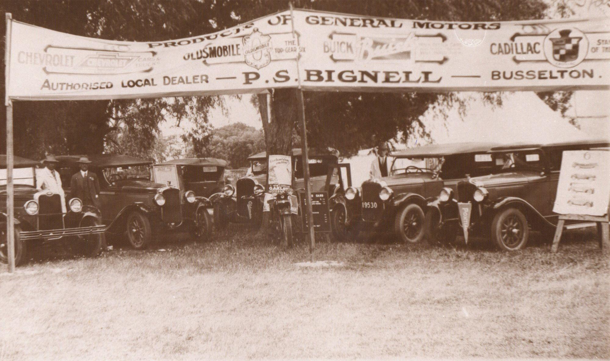 Sid Breeden and Michael Bignell - #24 1928 Show Day Busselton Bignells.jpg