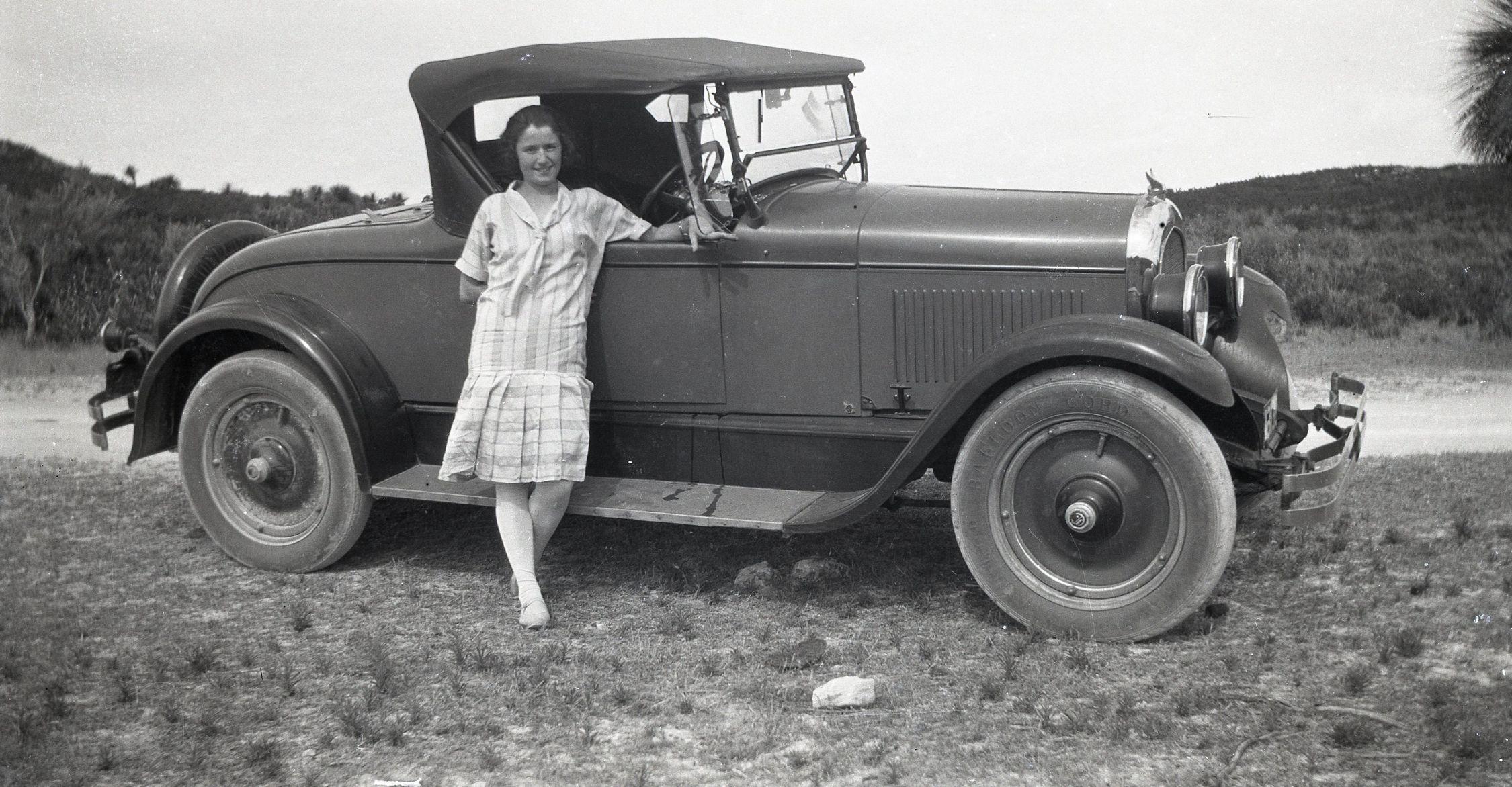 Jessie Selina Baker & 1927 Chrysler