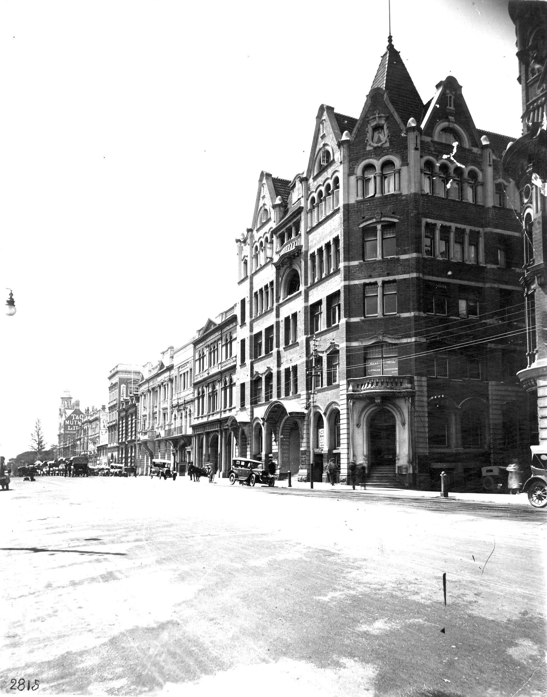 Perth St & Geo Tce, 1920s