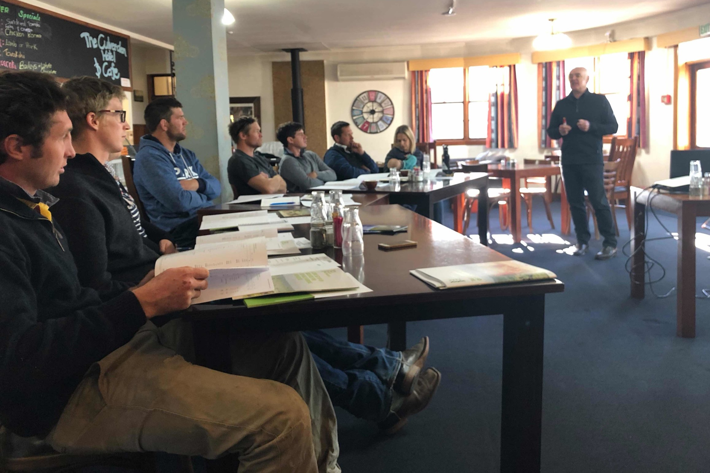 The Hurunui Legumes Action Group in the RMPP 'Taking Ownership of Your Financials' workshop