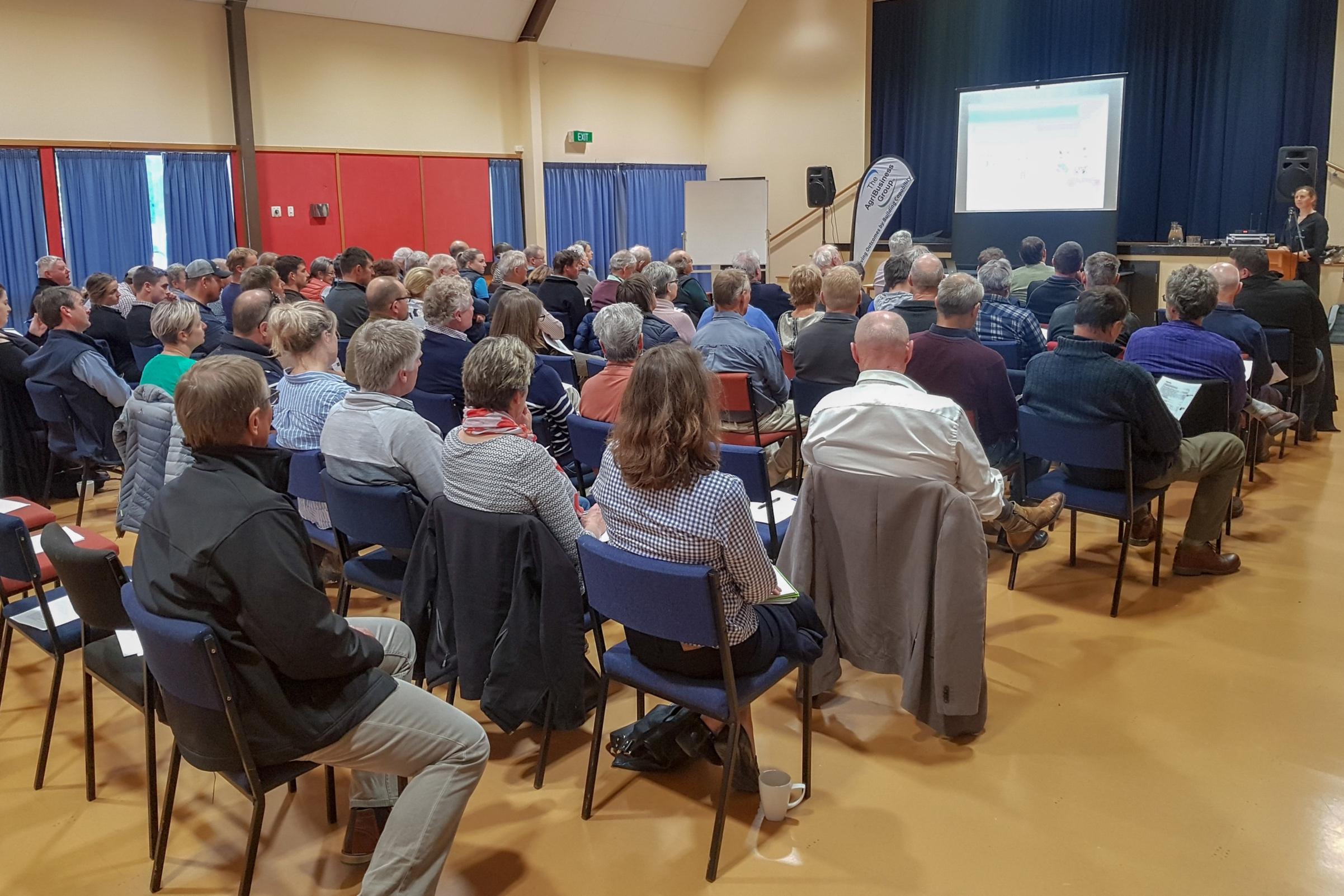 Our carbon farming seminar in Darfield