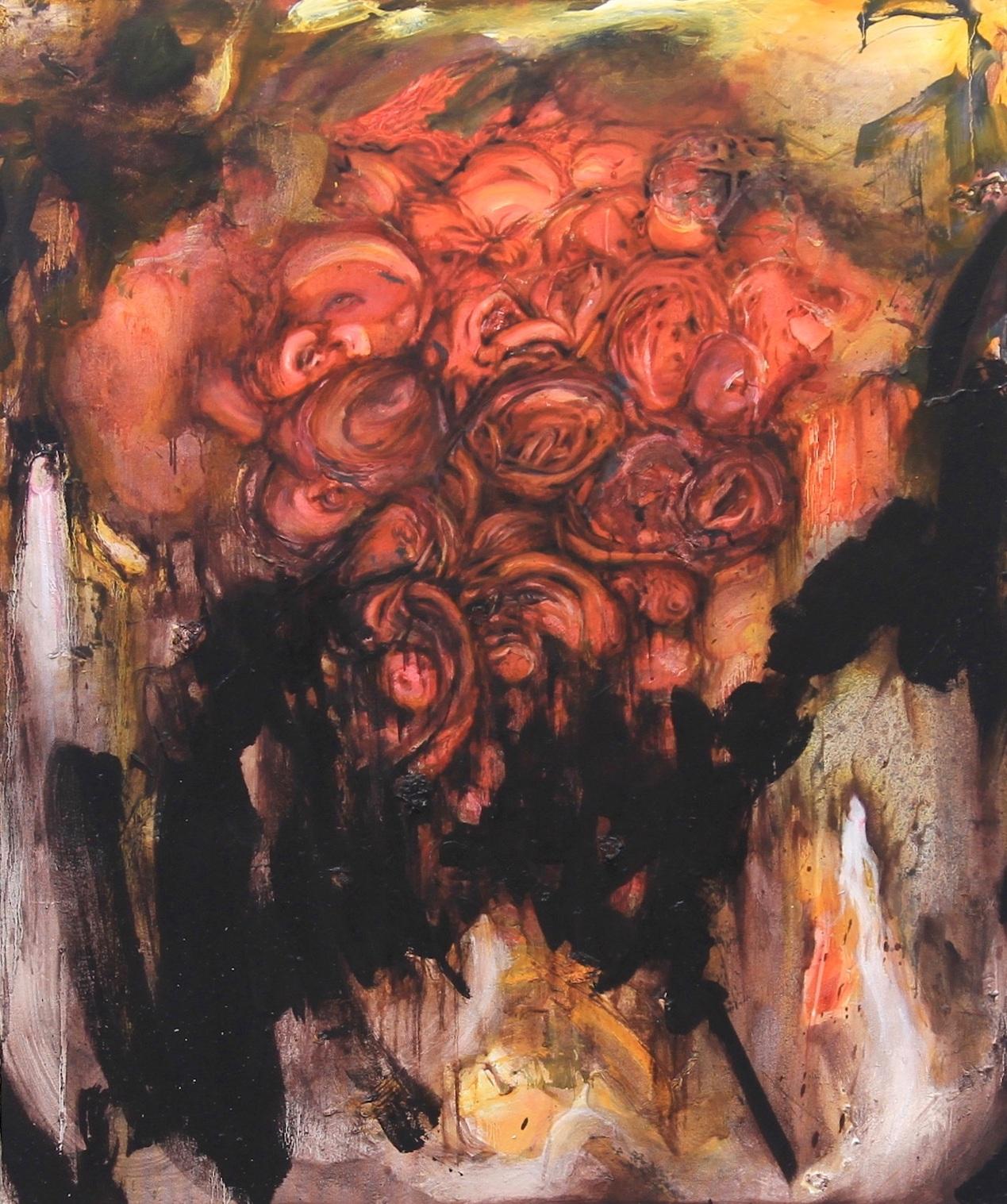 Saturday Night Feast / 2012 / Oil on canvas