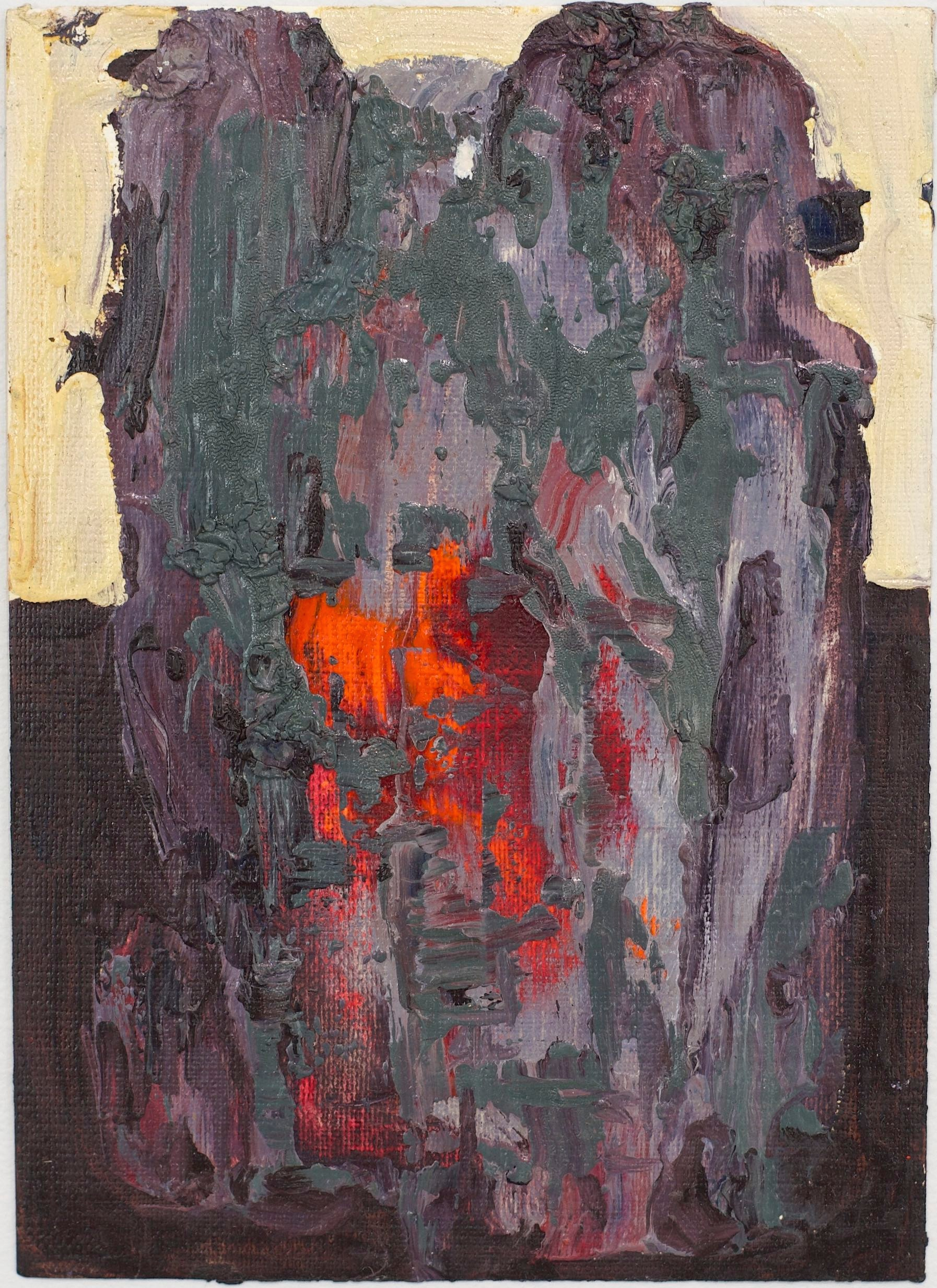 2015 / oil on paper / 7 x 5.1 inches / 18 x 13 cm