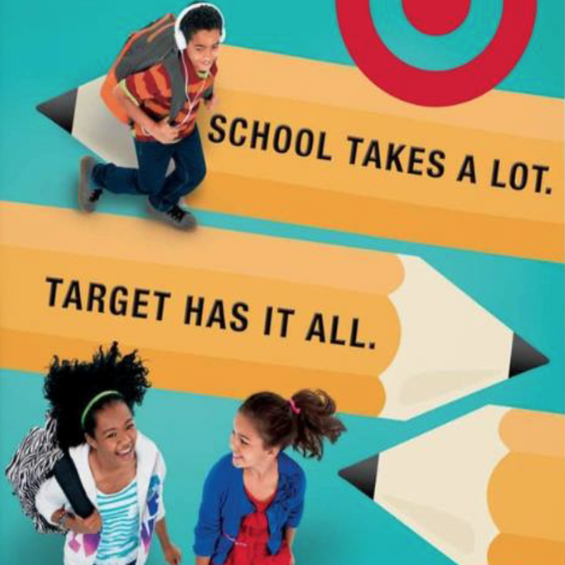 Target Back-to-School Campaign
