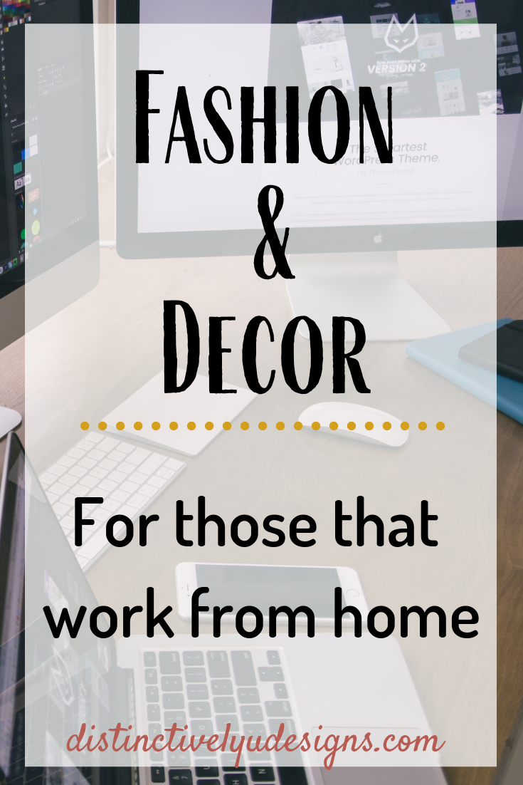 Fashion & Decor for those that work from home #homeoffice #workfromhome #bossbabe Personalized styling, in person, virtual styling, interior design.