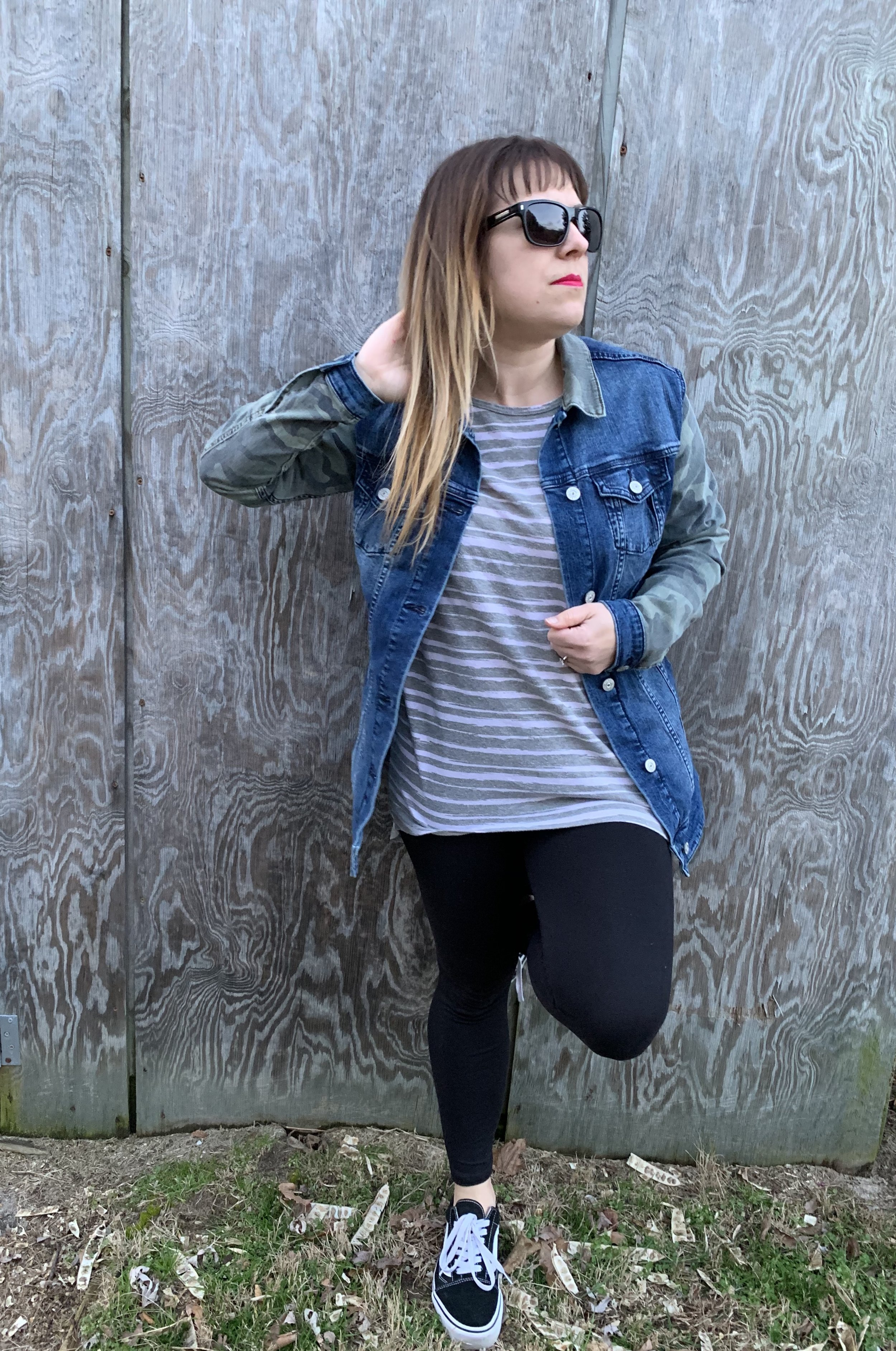 4) Lightweight Jacket - A cute denim jacket or bomber style jacket can take your outfit to a new level and they look great with your year round looks.