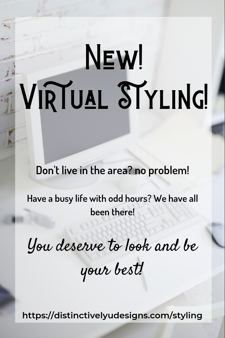Virtual styling. a personal stylist at your finger tips.