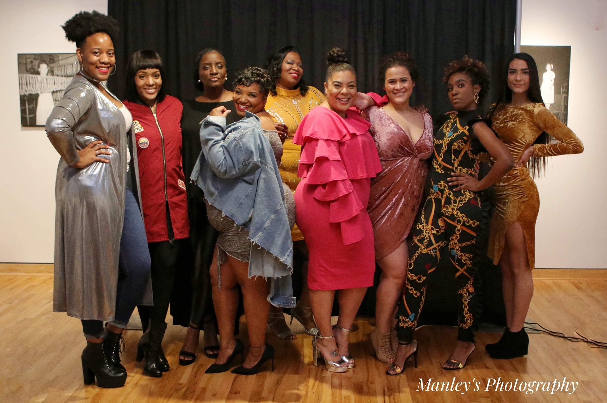 Models with  The FaShaenista Files  owner LaShae Settles Photo credit: Manley's Photography
