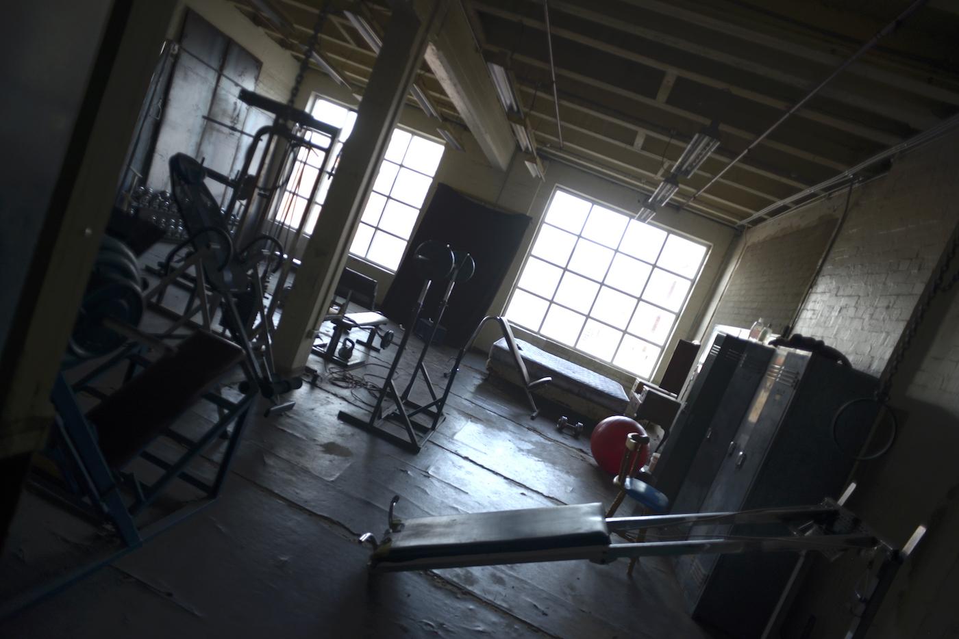 Level 2 Gym west windows