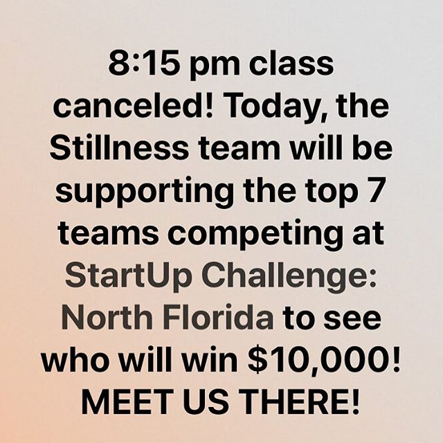 Join us at the Thomas Center for tonight's big event as we support the top 7 teams! Visit the link in the bio on the @startupchallengenfl page to grab your tickets! All are welcome!!