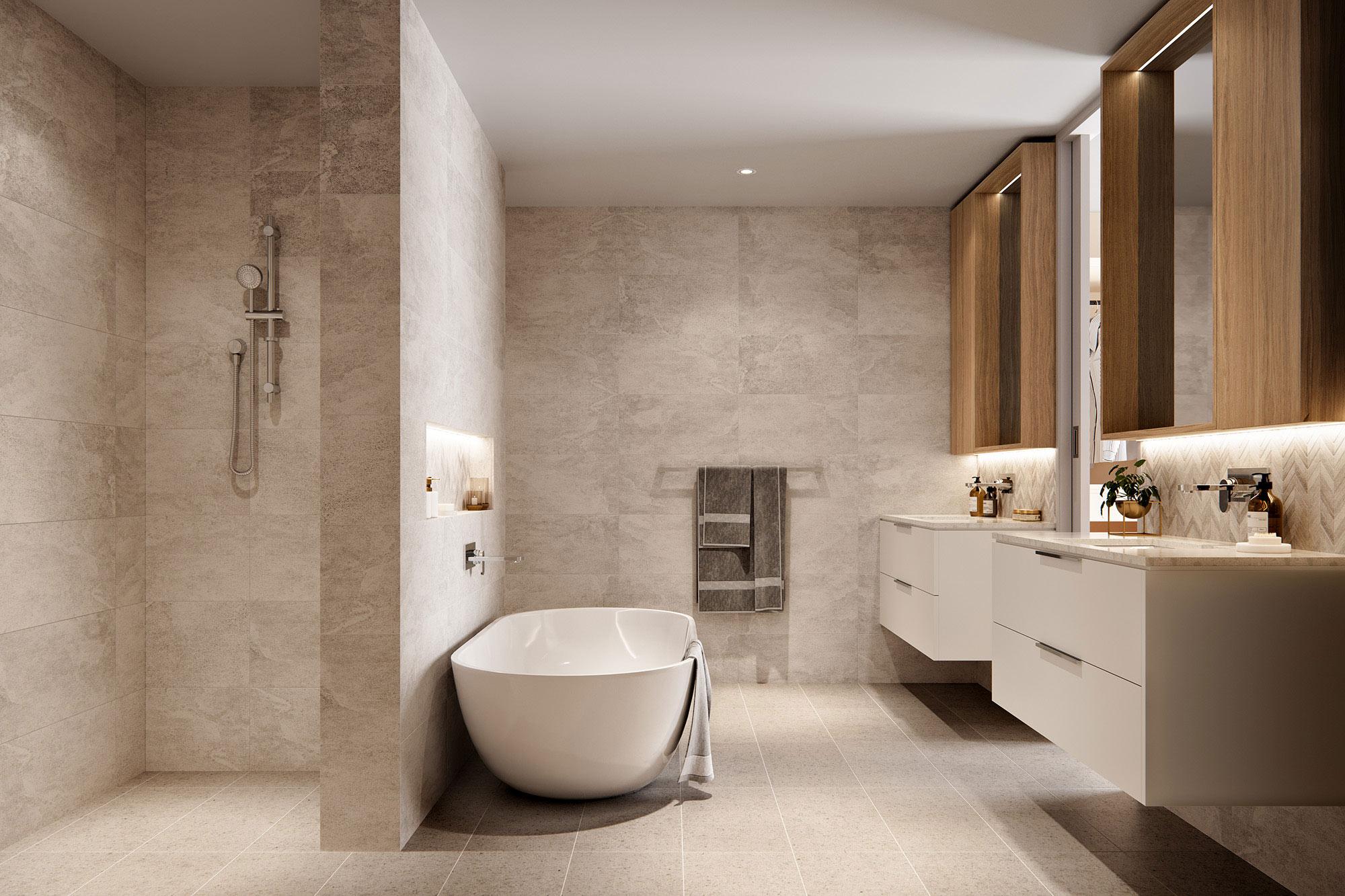Iluka Apartment Bathroom