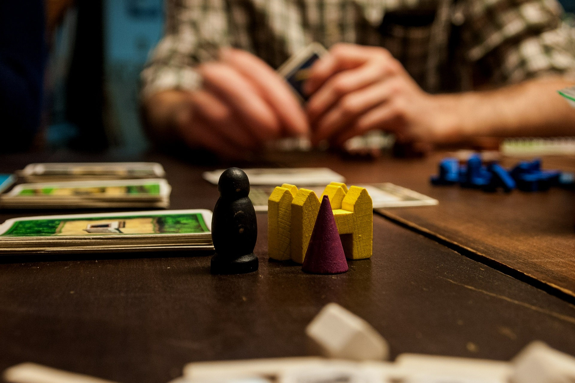 PLAY BOARD GAMES -
