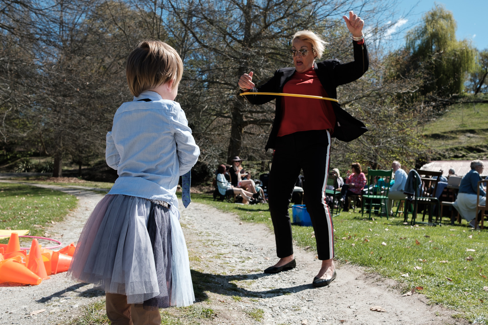 Grandma does the hula hoop   Queenstown wedding. fun, relaxed adventurous wedding photography gold coast