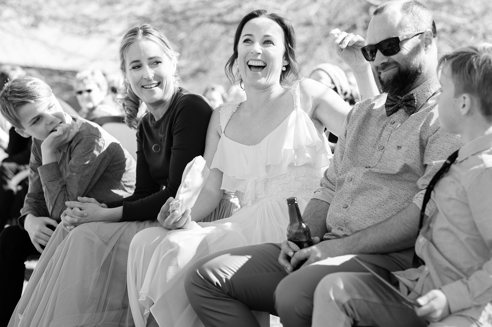 Queenstown wedding. black and white. fun, relaxed adventurous wedding photography gold coast