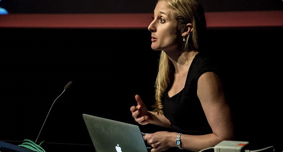 Megan Riakos, President, WIFT NSW  Photo: Lauren Orrell