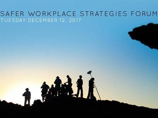 'Safer Workplace Strategies' - Industry Forum to address harassment in the Australian Screen Industry. - 27 November 2017
