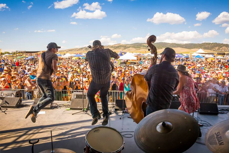 Relentlessly Energetic - A Montana favorite, folk-rock band Laney Lou & The Bird Dogs closed out the 2018 season. The whole crowd could be seen singing, dancing, and smiling.