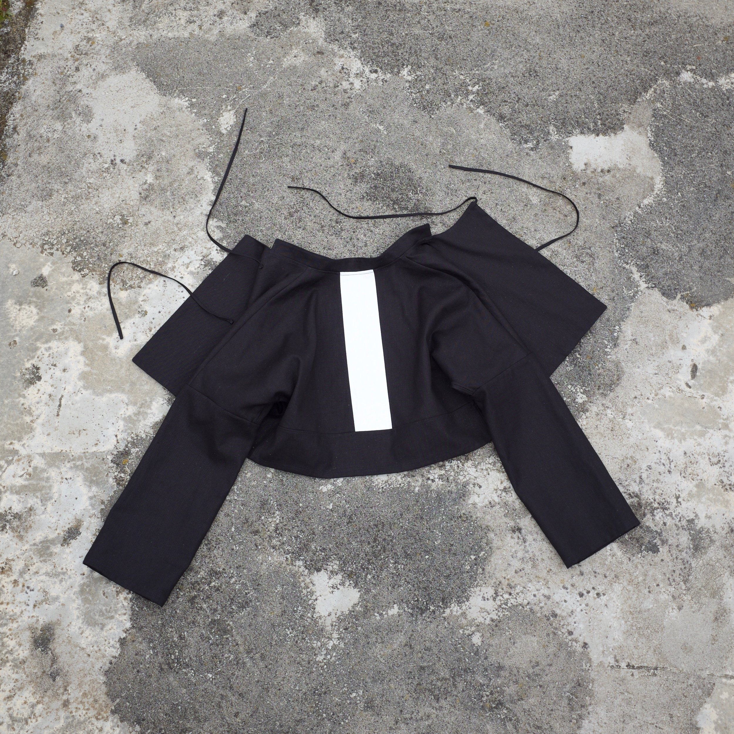higara crop jacket