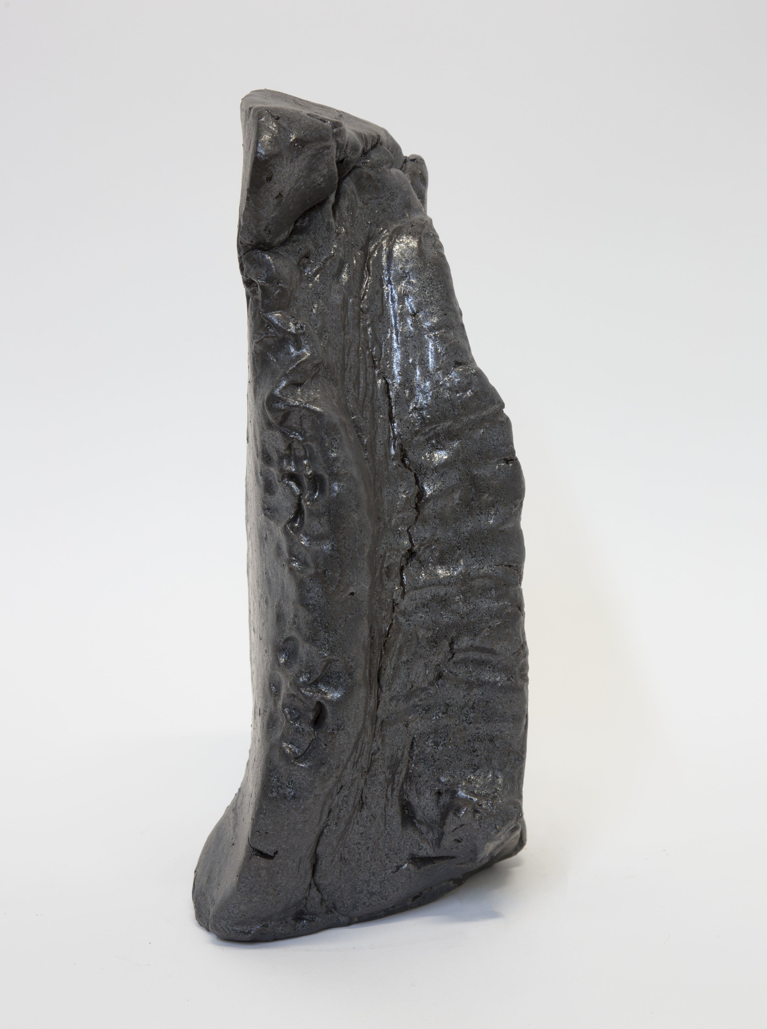Sebastian Gladstone   Untitled Fired Stoneware , 2018 15 x 8 x 8 ½ in. fired stoneware, glaze