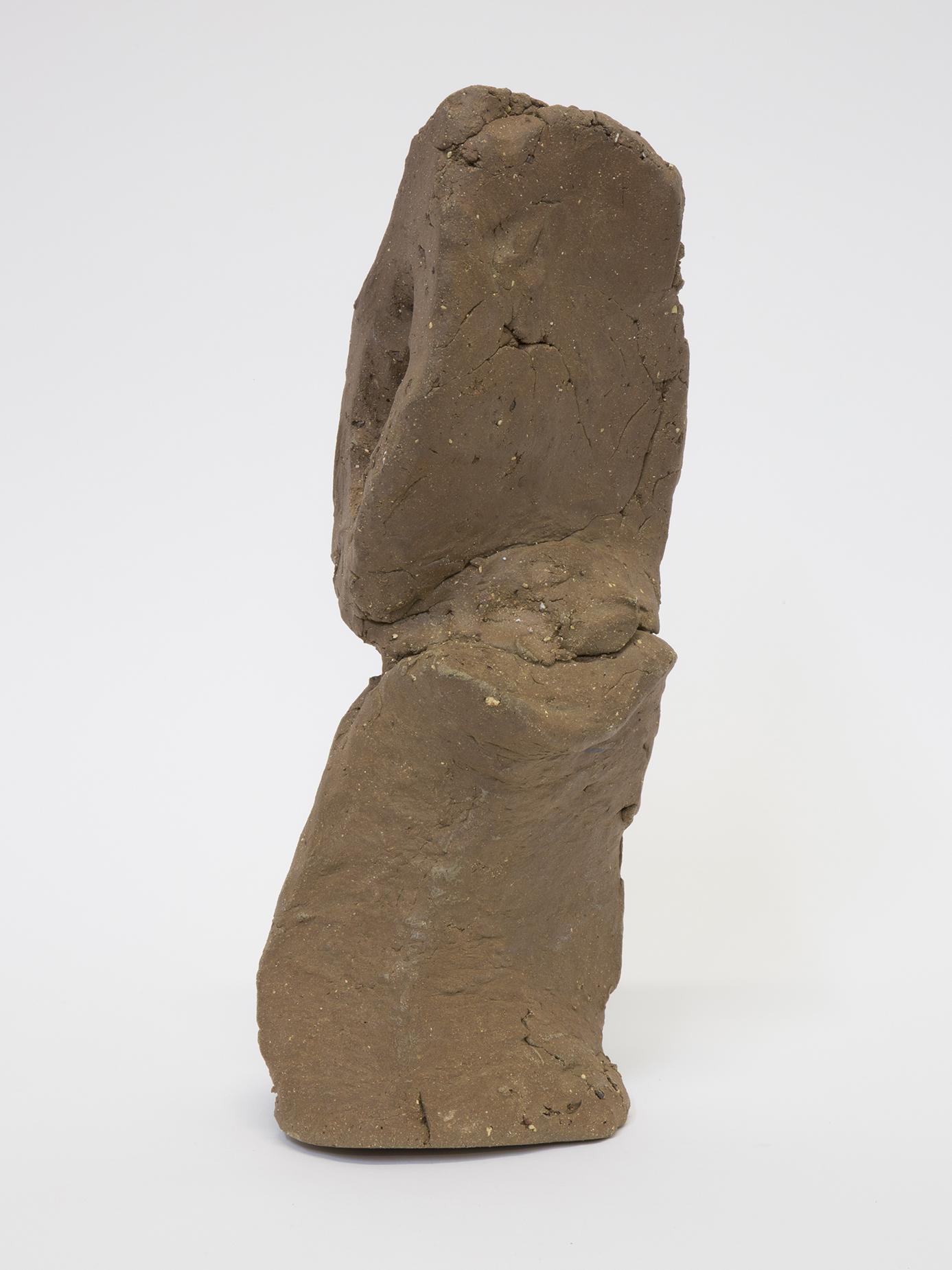 Sebastian Gladstone   Untitled Fired Stoneware , 2019 fired stoneware 15 ½ x 6 ½ x 5 in.