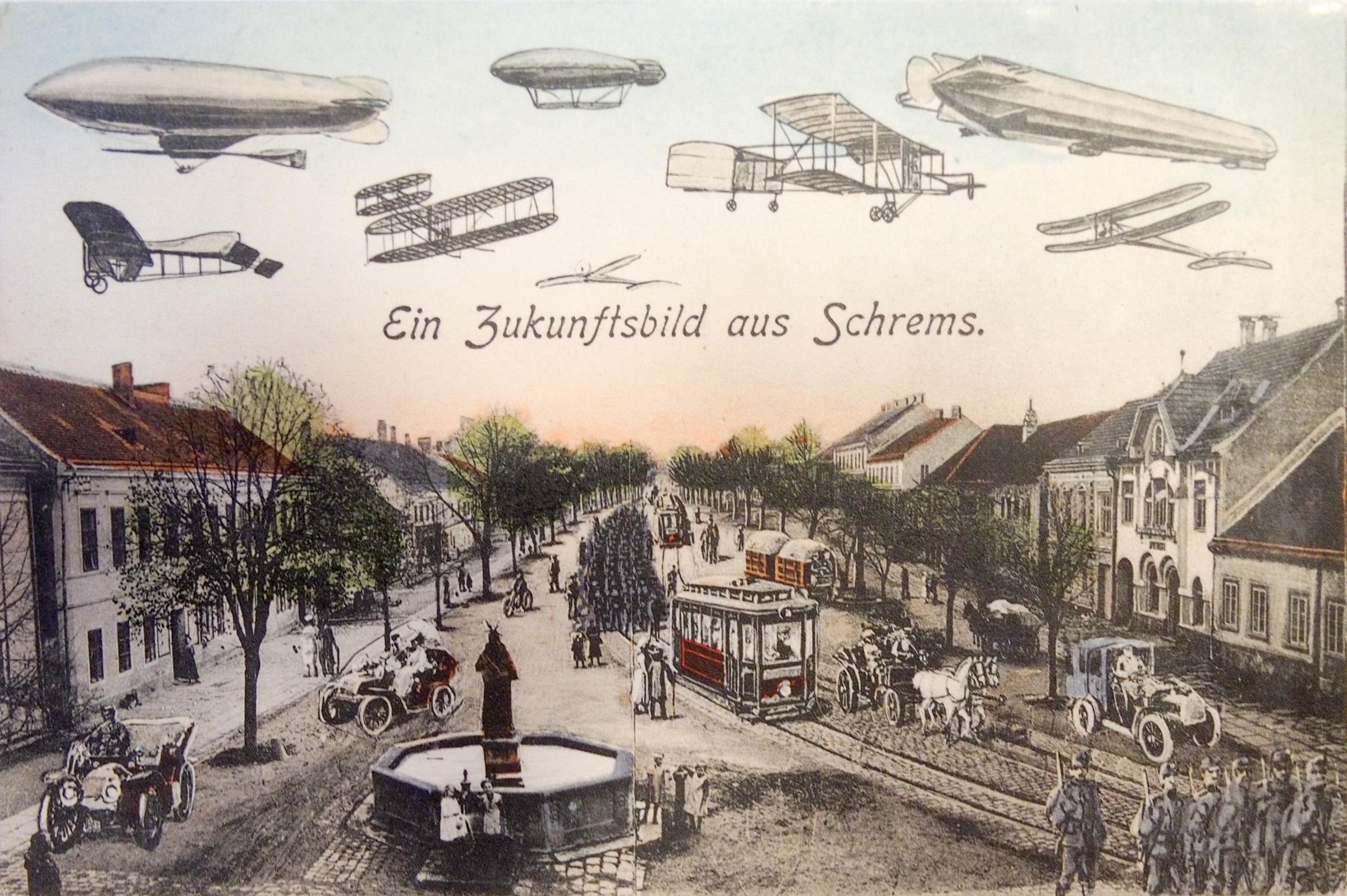 Hauptplatz 1910 Schrems.jpg