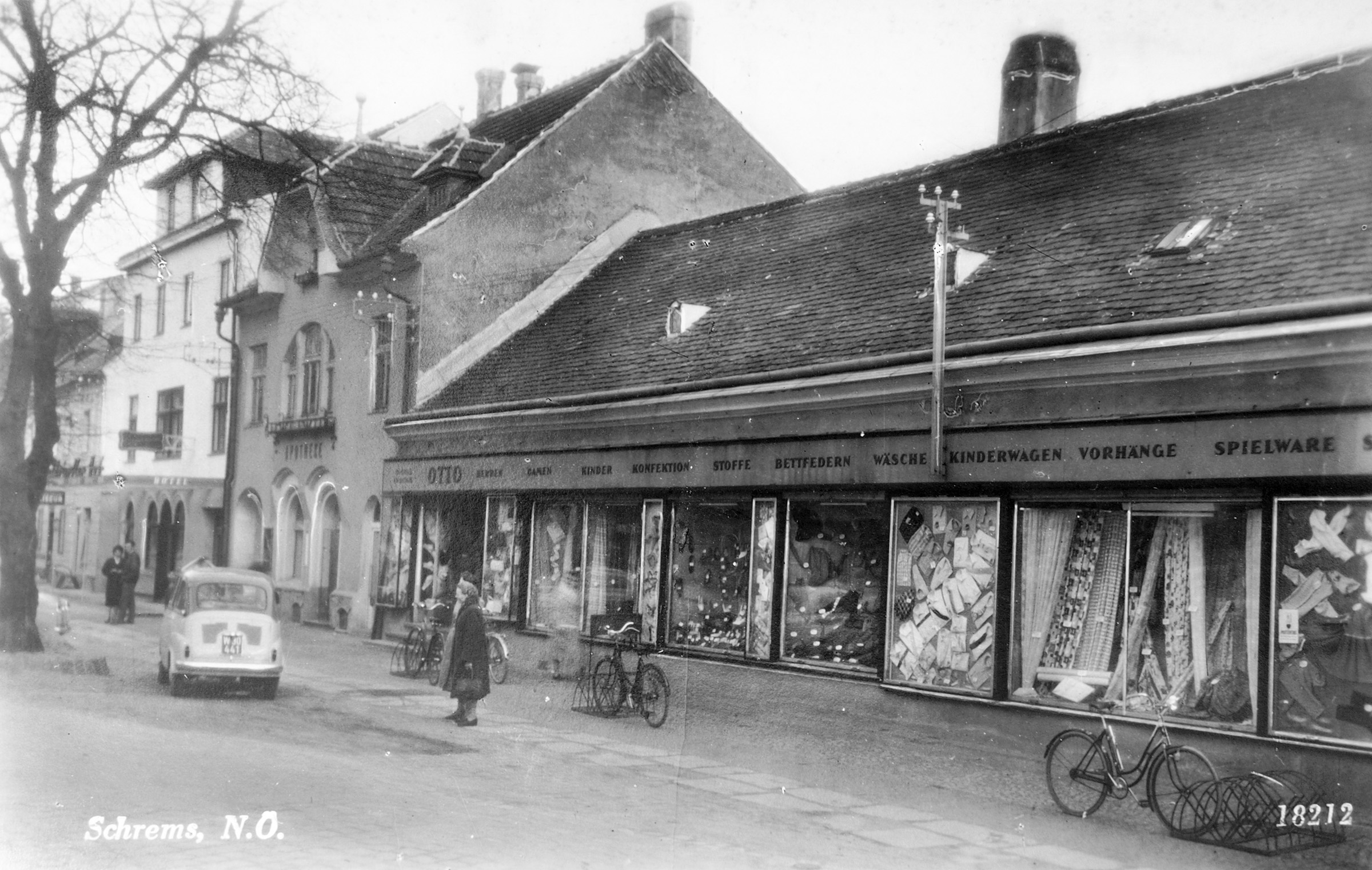 Schrems Hauptplatz Otto 1950.jpg
