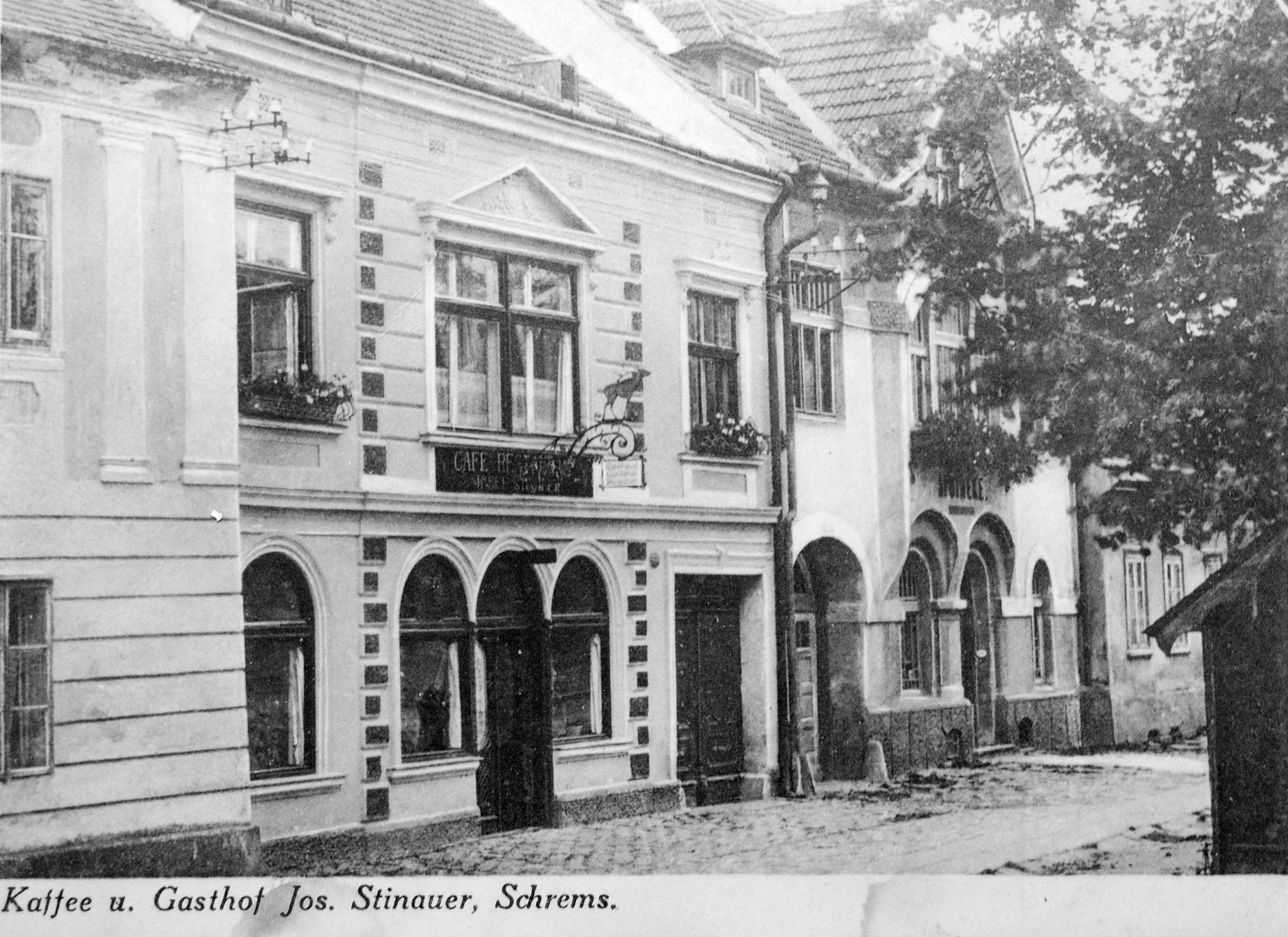 Waldviertler Hof - Gasthaus Stinauer 1926 Schrems.jpg
