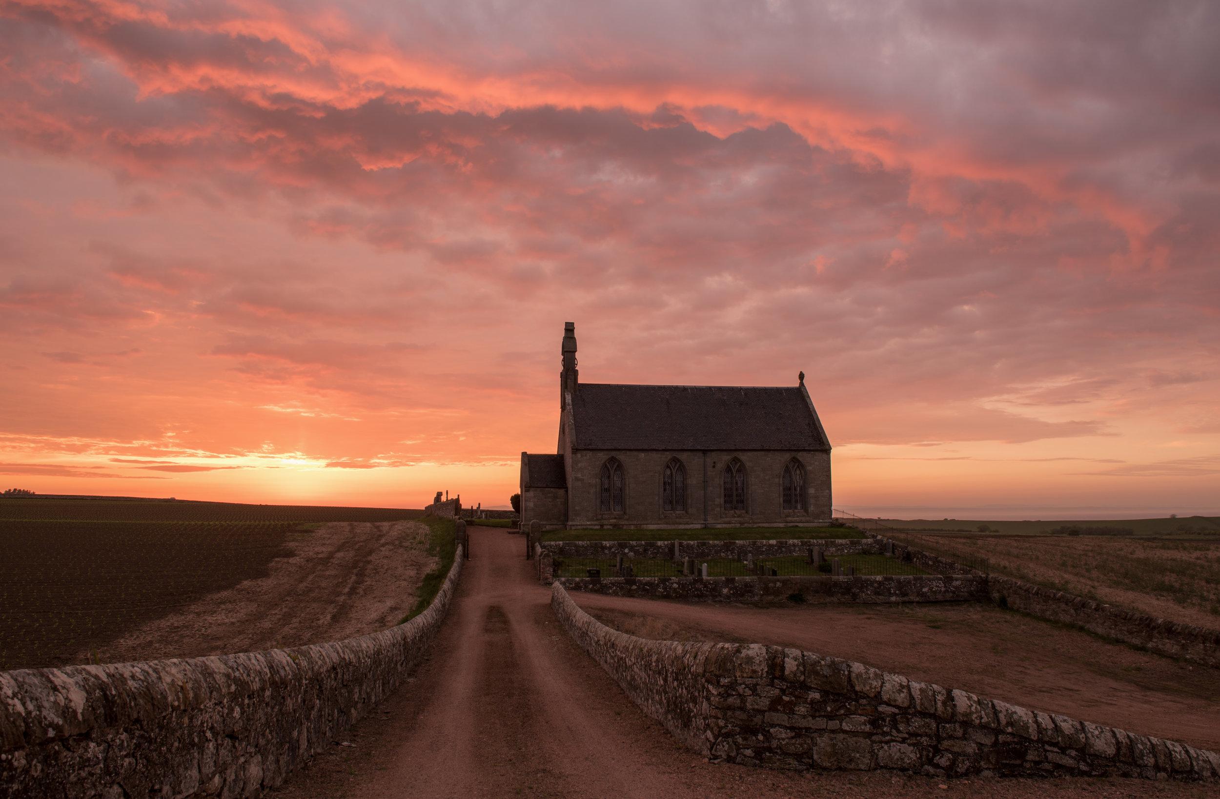 Boarhills Sunset