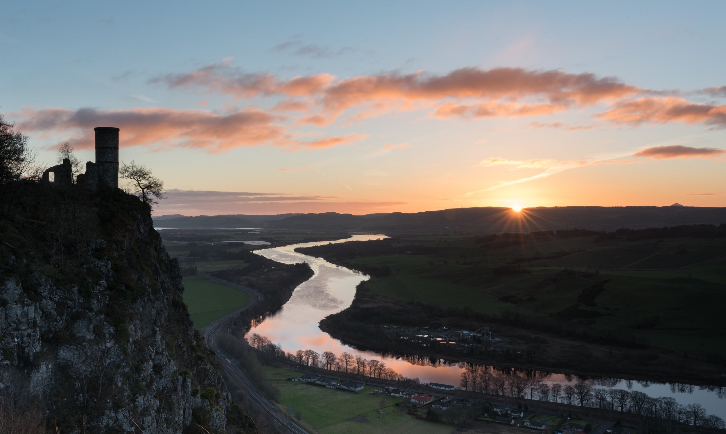 Kinnoull Hill sunrise by Katherine Fotheringham