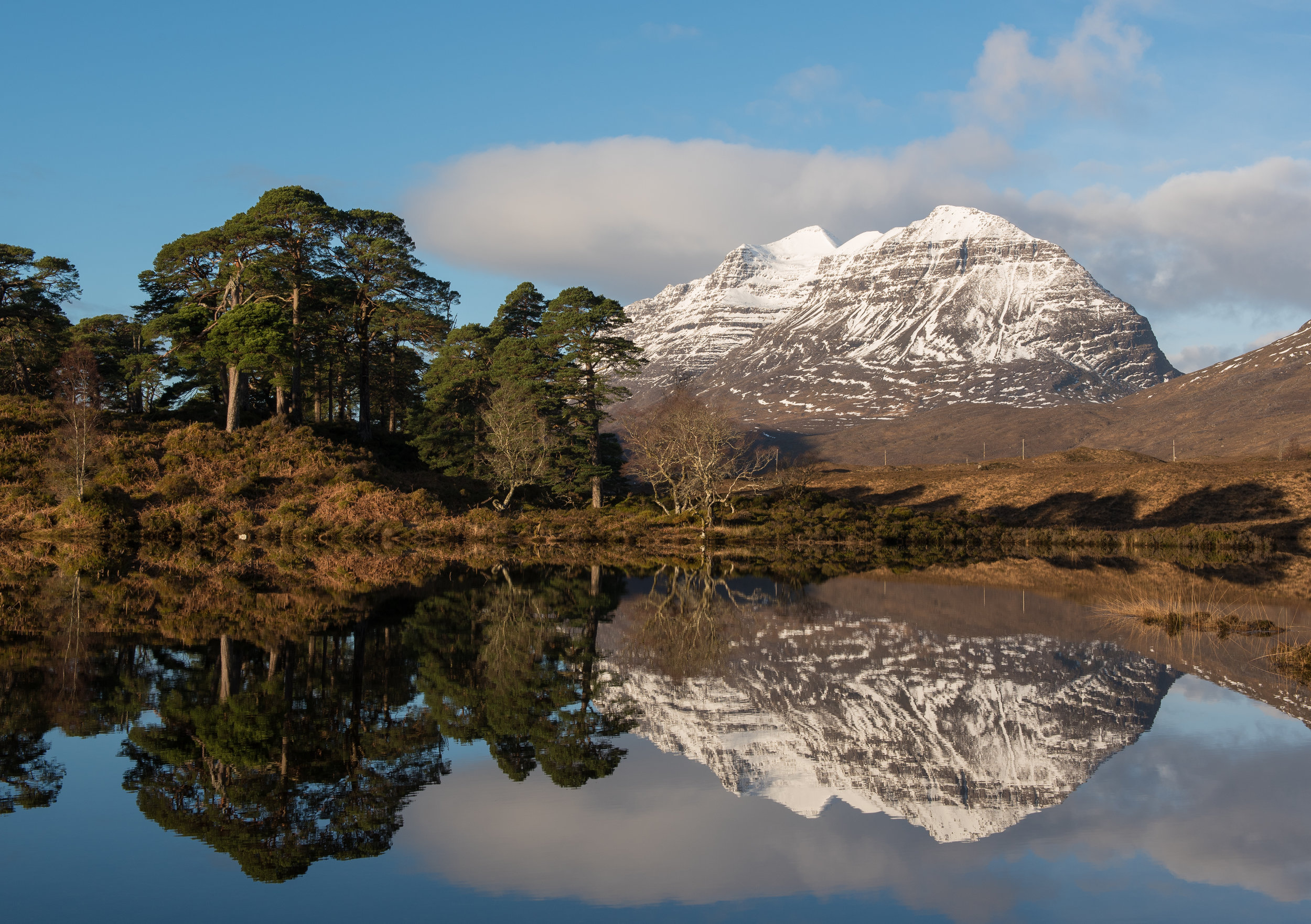 Loch Clair Reflections by Katherine Fotheringham