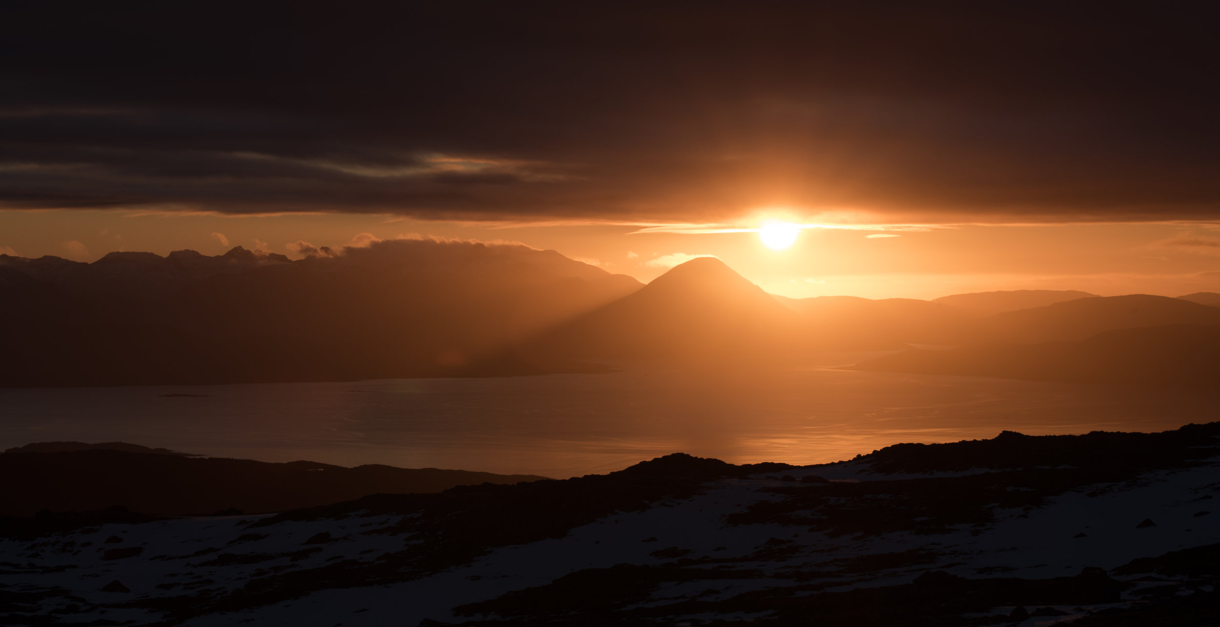 Sunset over Skye by Katherine Fotheringham