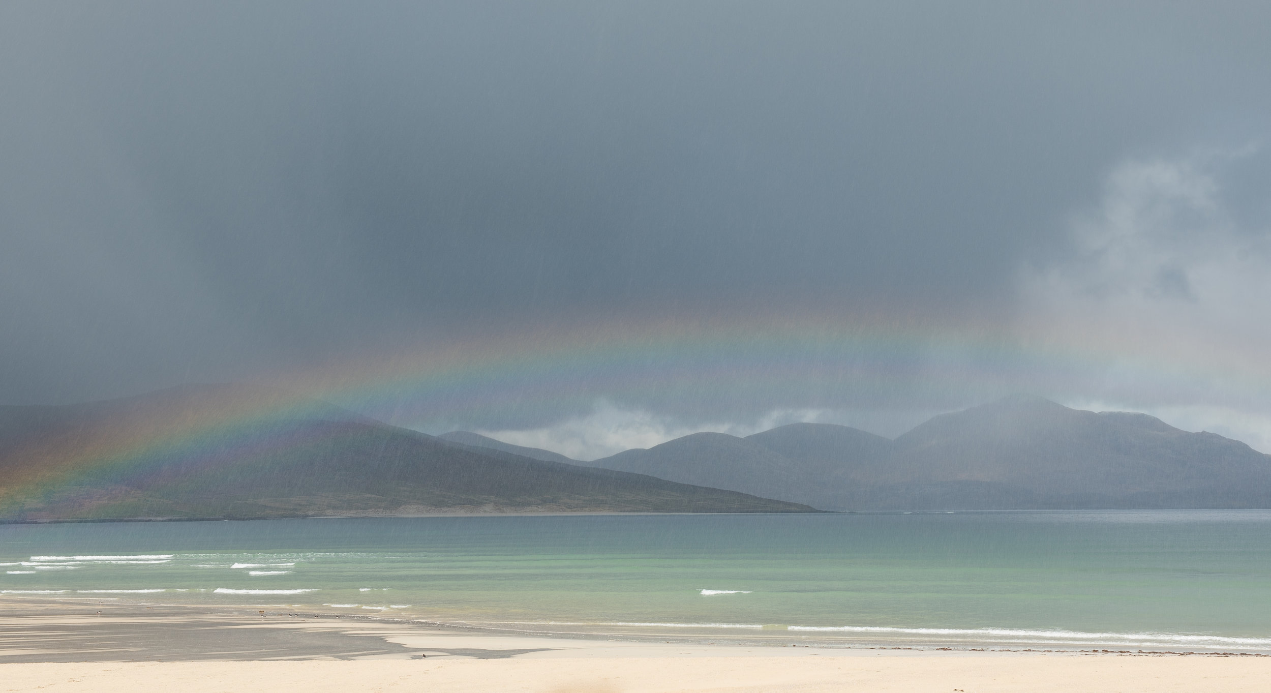 Harris rain showers by Katherine Fotheringham
