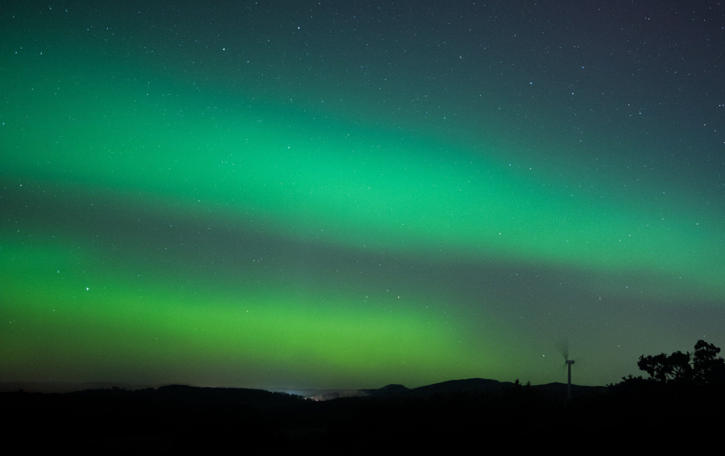 The Aurora and The Windmill by Katherine Fotheringham