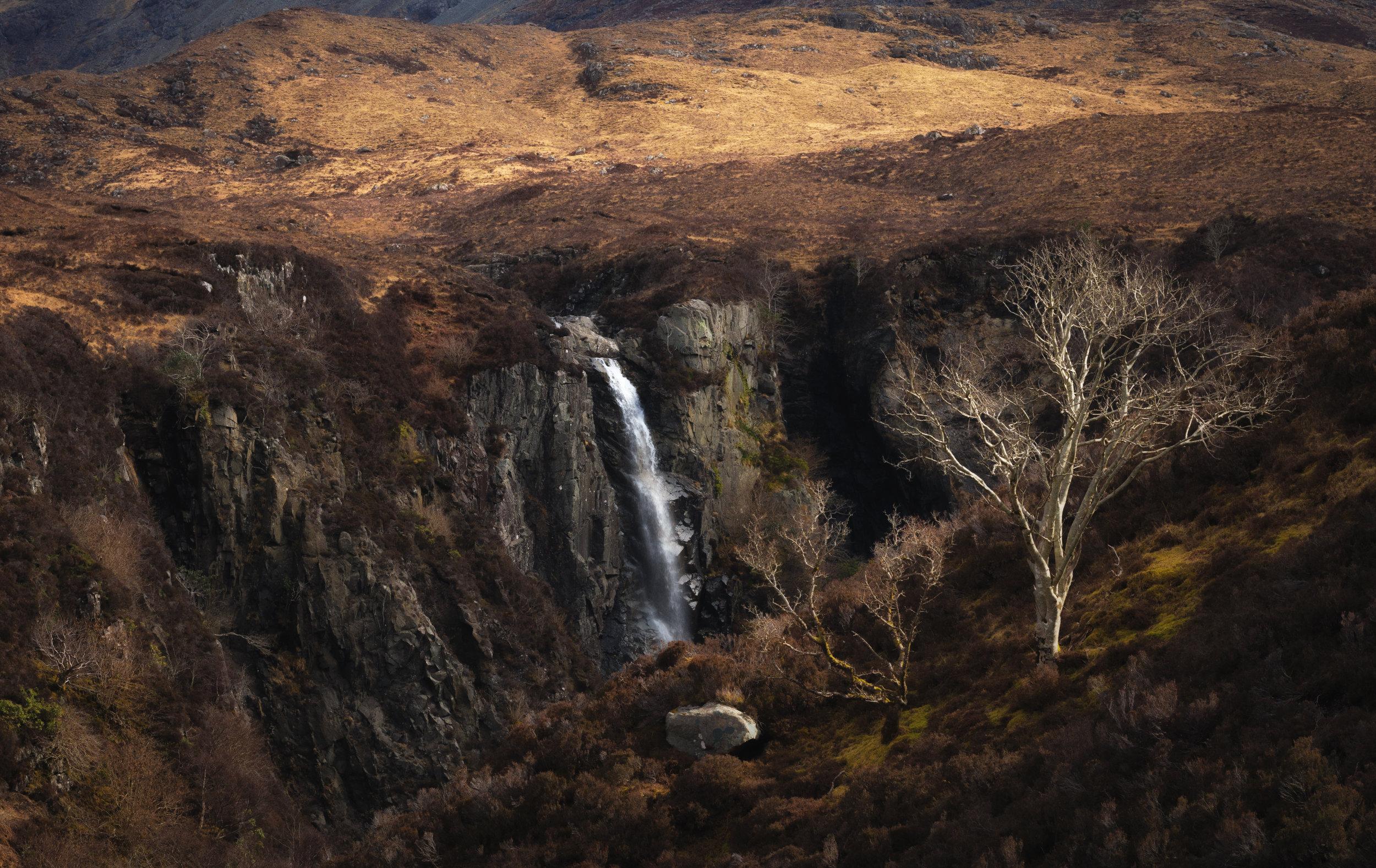 Eas Mor, Glen Brittle, Skye by Andy Clark