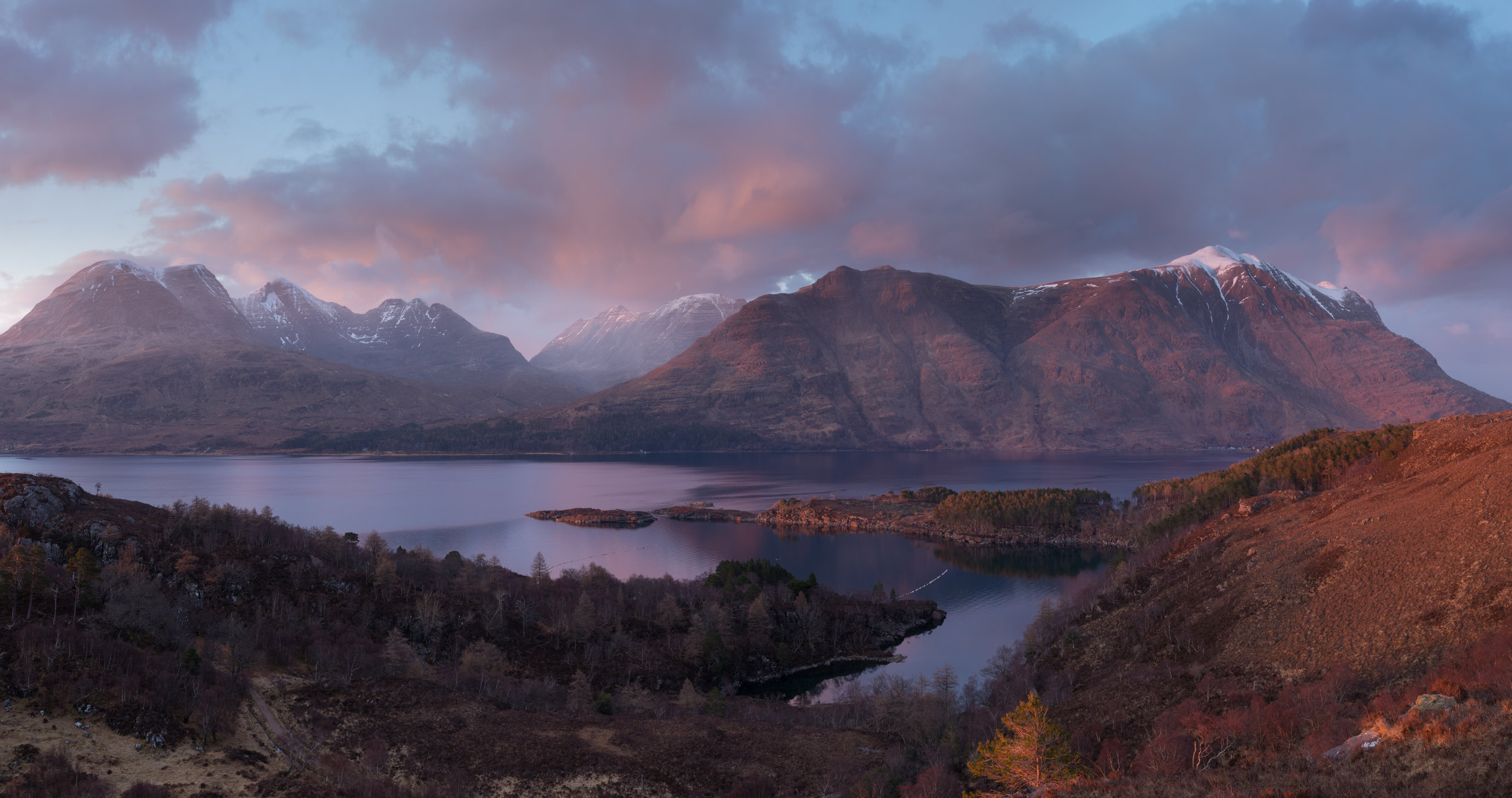 Torridon Sunset by Andy Clark