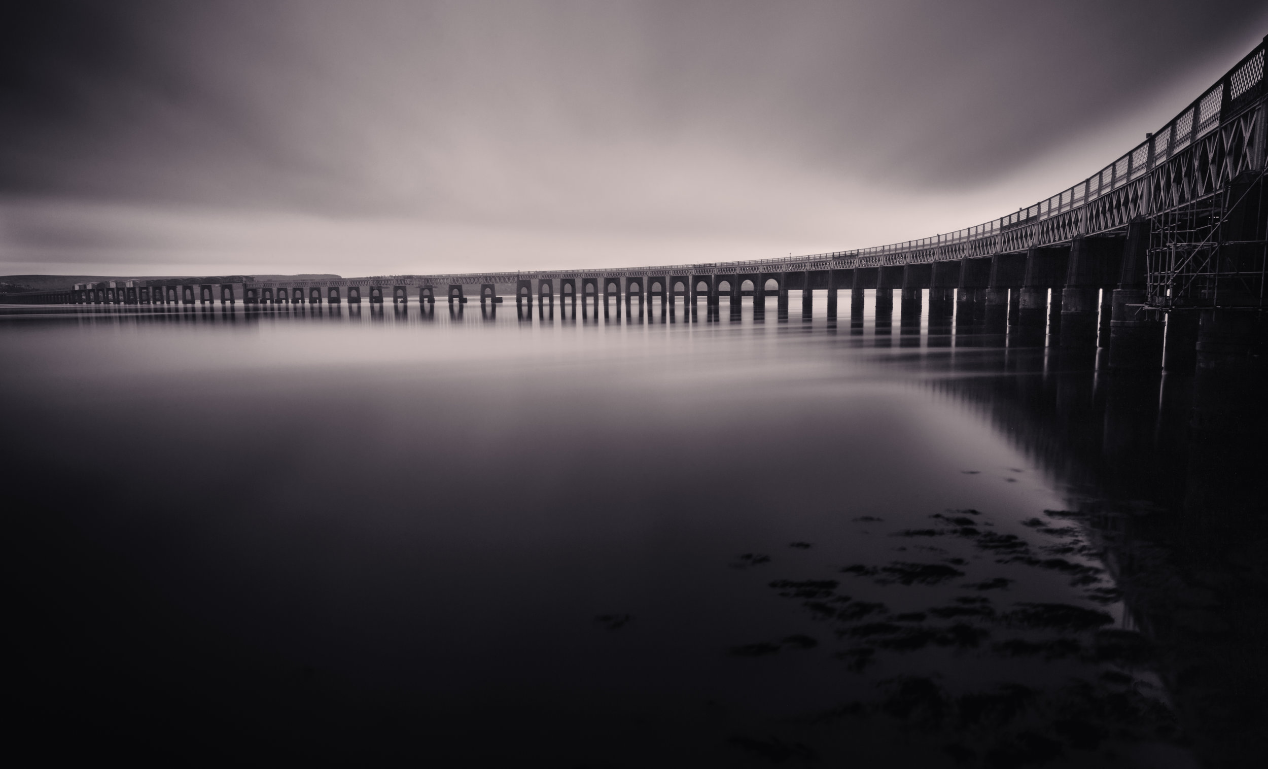 The Tay Bridge by Andy Clark