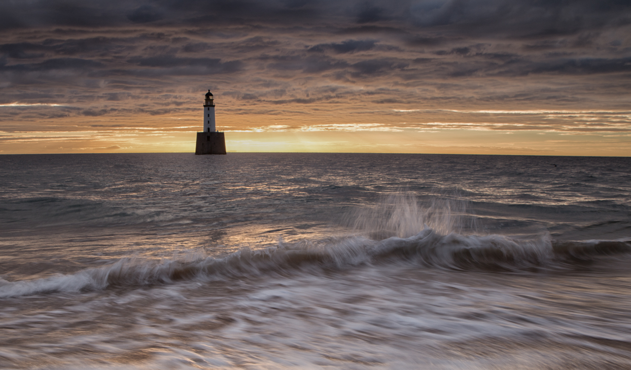 Dawn at Rattray Head by Andy Clark