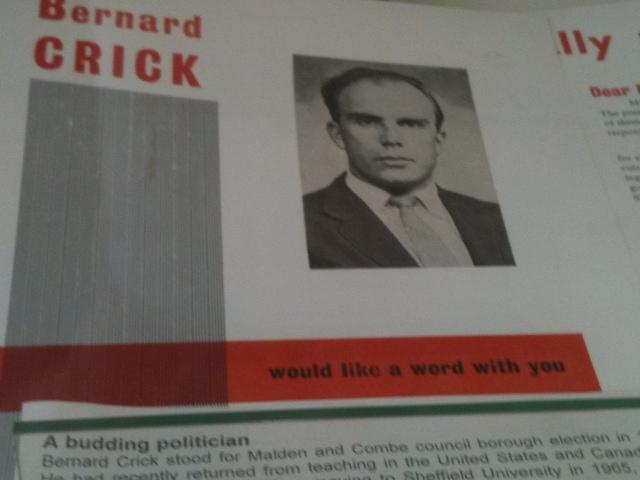 Bernard Crick