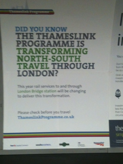 Thameslink transformation