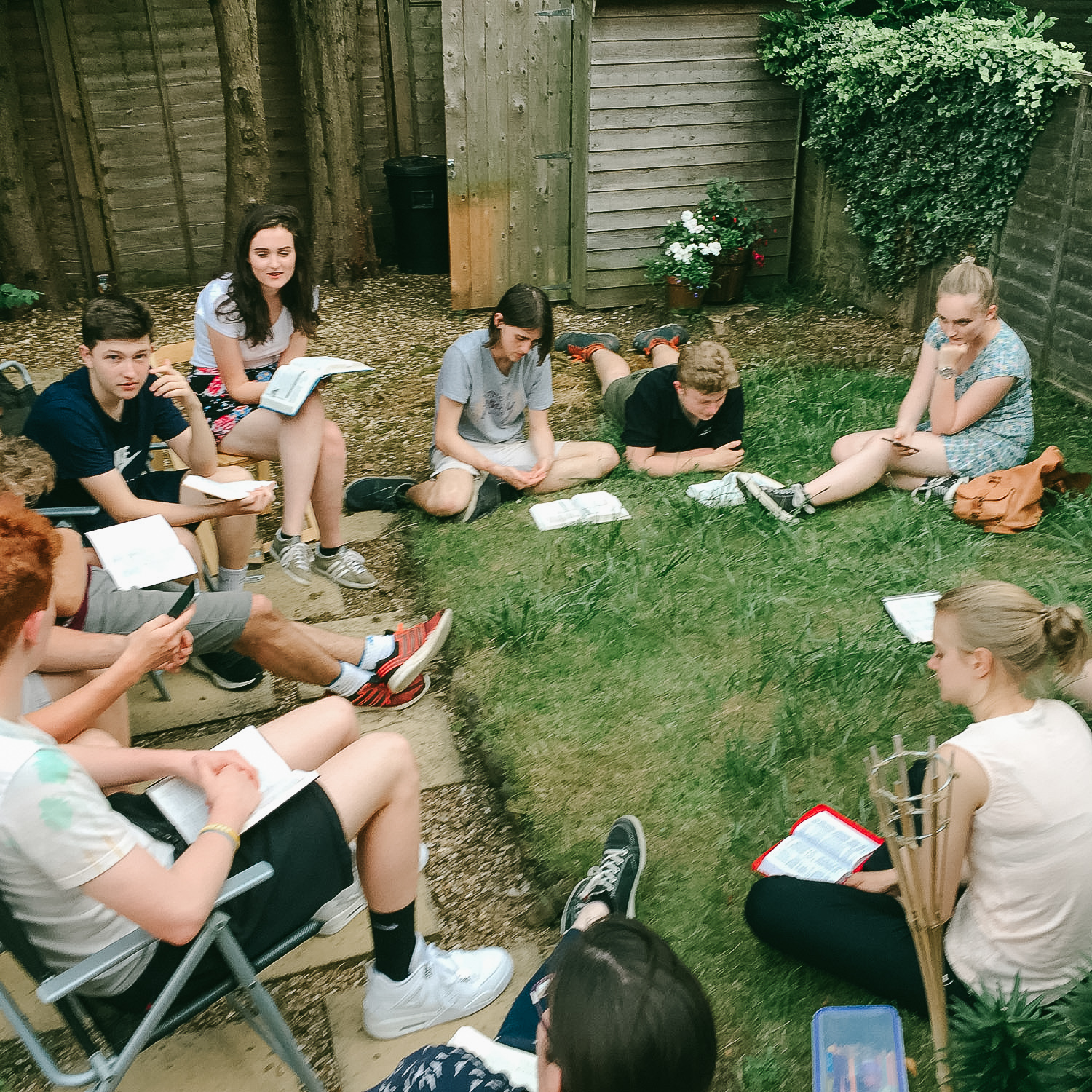 Youth small groups - Explore Jesus, share life, eat food! Sound good? Find out about joining a small group for your year group by emailing youth@stjohnsharborne.orgTuesday evenings - Year 7, 10, 11 & 13 Wednesday evenings - Year 8 & 9 Thursday evenings - Year 12